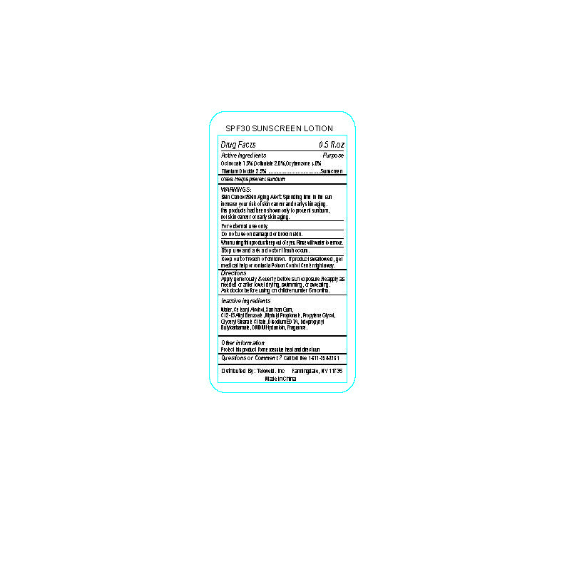 (OCTINOXATE, OCTISALATE, OXYBENZONE, TITANIUM DIOXIDE) LOTION [SHANGHAI KEJING CLEANING PRODUCTS CO., LTD.]