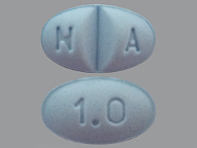 ALPRAZOLAM 1 MG TABLET