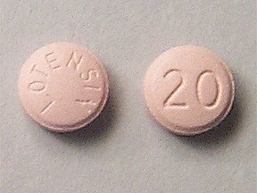 LOTENSIN 20 MG TABLET