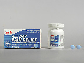 CVS ALL DAY PAIN RLF 220 MG TB