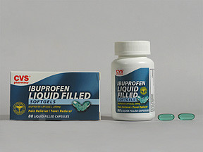 CVS IBUPROFEN 200 MG SOFTGEL