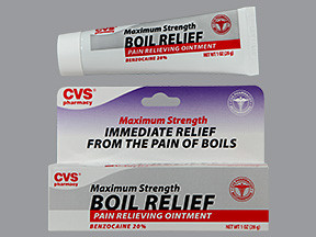 Cvs Boil Relief Ointment Off White Ointment Cvs 50428444806