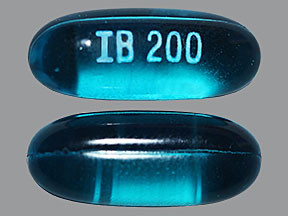 EQL IBUPROFEN 200 MG SOFTGEL