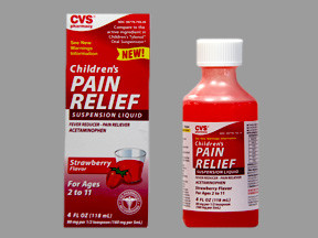 CVS CHILD PAIN RLF 160 MG/5 ML