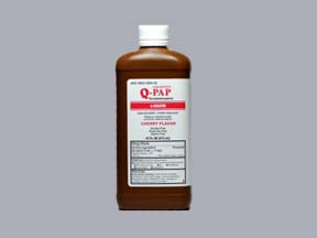 Q-PAP 160 MG/5 ML SOLUTION