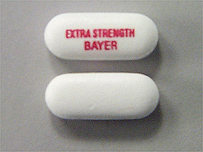 BAYER ASPIRIN 500 MG CAPLET