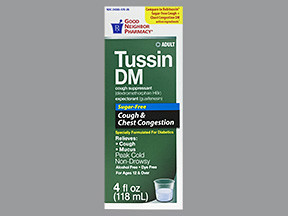 TUSSIN DM CLEAR SYRUP