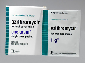 AZITHROMYCIN 1 GM PWD PACKET