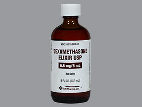 DEXAMETHASONE 0.5 MG/5 ML ELX