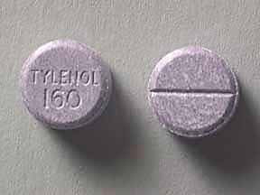 CHILD TYLENOL 160 MG TAB CHEW