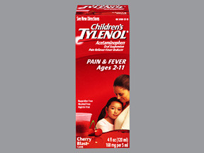 CHILDREN'S TYLENOL 160 MG/5 ML