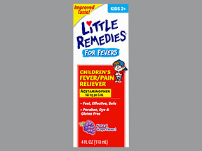 LITTLE REMEDIES FEVER 160 MG/5