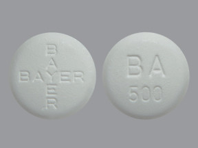 BAYER ADVANCED 500 MG TABLET