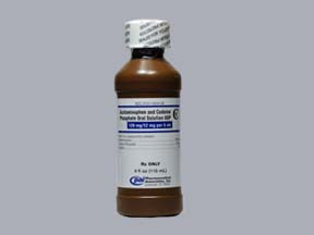 ACETAMINOPHEN-CODEINE 120 MG-12 MG/5 ML SOLUTION