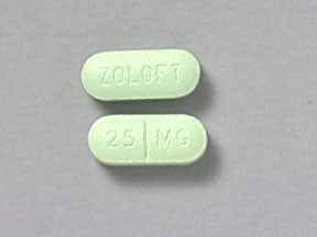 ZOLOFT 25 MG TABLET