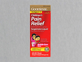 CHILD PAIN RLF 160 MG/5 ML SUS