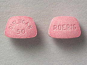 DIFLUCAN 50 MG TABLET