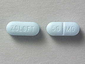 ZOLOFT 50 MG TABLET