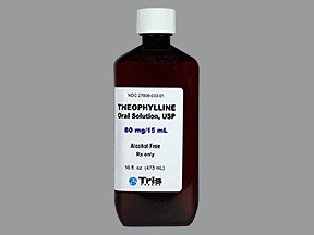THEOPHYLLINE 80 MG/15 ML SOLN
