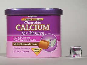 CALCIUM FOR WOMEN CHEWABLE TAB