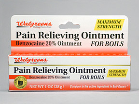 Pain Relieving 20 Ointment Ointment Walgreen Co 11917005093