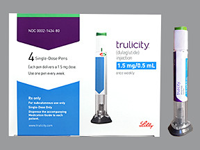 Trulicity 1 5 Mg 0 5 Ml Pen Colorless Pen Injector Eli